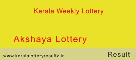 Akshaya Lottery Result 5.12.2018