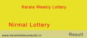 Nirmal Lottery Result