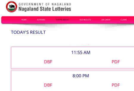 nagaland lottery result 4.12.2018