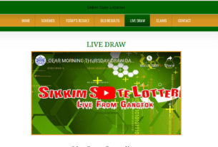 Lottery Sambad Result 9.8.2019 - Sikkim State Lottery Dear Morning Result 11.55 am