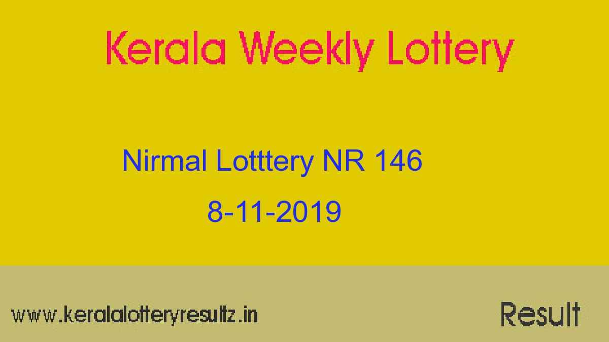 Nirmal Lottery NR 146 Result Today 8.11.2019 (Live)